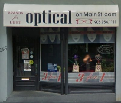 Optical on Main Street (New Optical)