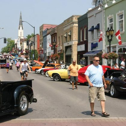 Newmarket Car Club – Main St. Car show